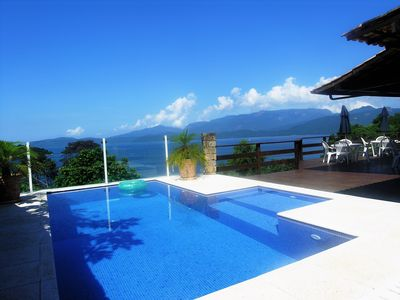 Photo for MAGNIFICENT HOUSE IN ANGRA DOS REIS + BOAT FOR TOURS IN ILHA GRANDE