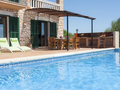 Photo for newly built villa, Quiet Location, Rustic Style, Swimming Pool
