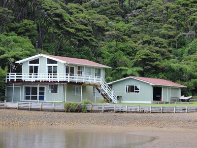 Photo for Secluded beach front property with private beach.