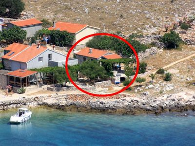 Photo for House in Statival (Kornati), capacity 2+2