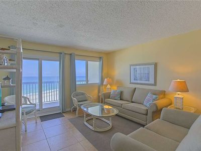 Photo for Pinnacle Port C2-503 - Gulf Front, Heated Community Pool, Gym, Carillon Beach!