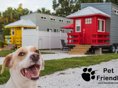 Photo for Red Lifeguard Stand - Living large in a Tiny House with FREE WiFi