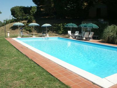 Photo for Taglia Alti, secluded 4 bedroom villa with private pool near village restaurants