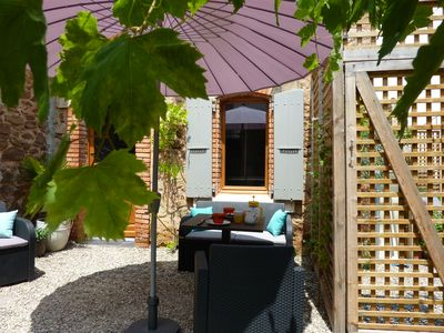Photo for 1BR Cottage Vacation Rental in Cruzy, Occitanie