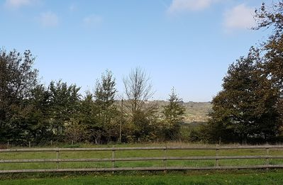 View over Gordano Valley from the front door