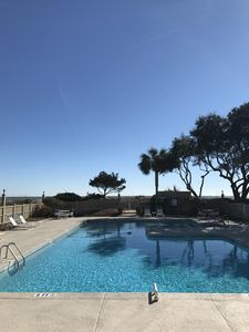 Oceanside pool at Port O Call. Free with rental.