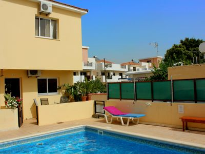 Photo for Two-Bedroom House with Pool, Free Wi-Fi, 2 Bedrooms, 2 Porches, Flat Screen TV, Speaker