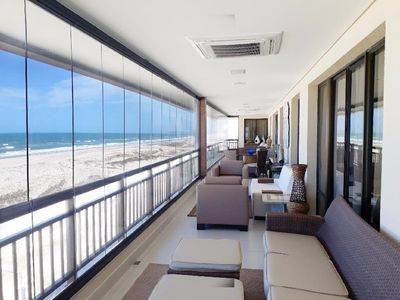 Photo for Residential Apartment / Porto das Dunas - Pé na Areia