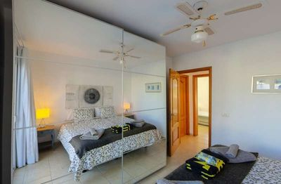 Photo for Apartment in the center of Charco del Palo with Internet, Pool, Garden, Balcony (1028993)