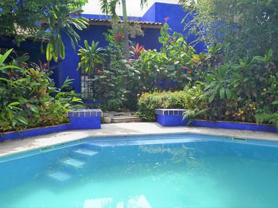 Photo for Mexican style residence Casa Azul
