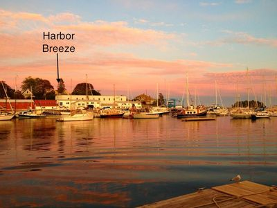 Photo for Great Location ! Harbor Breeze on Camden Harbor & walking distance to town