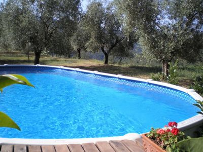 Photo for Romantic holiday home in Tuscany with swimming pool