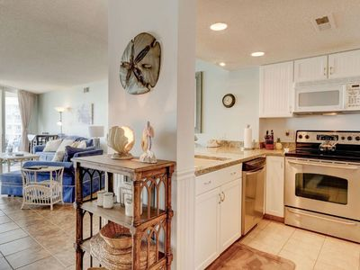 Photo for Bright and Newly Updated Kitchen, Oceanfront, incredible views