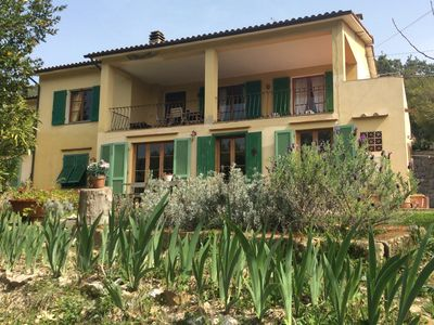 Photo for Cork trees - Spacious apartment in the green of the maquis