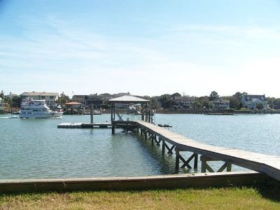 Island life across from Isle of Palms