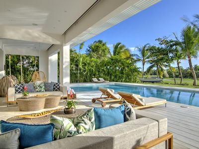 Photo for Contemporary 6BR Stunner at Punta Cana Resort & Club, Sleeps 14