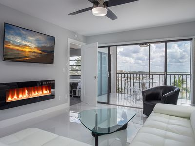 Photo for STUNNING  CONTEMPORARY FINEST WATER VIEW IN K BUILDING! EVERYTHING NEW IN UNIT!