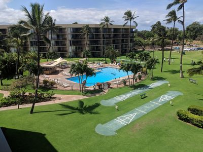 Photo for Book it NOW!  Maui Sunset 120B ~ 2 BR, 2 BA, Ground Floor close to Pool!