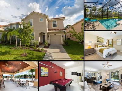 Photo for 6 Bedroom/5 Bathrooms Paradise Palms (8956SP)