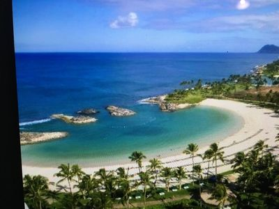 Photo for Hawaii 2BR, 2BA oceanfront Oahu Ko'Olina