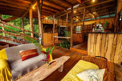 Private Waterfall Ecolodge Glamping Tent with Jungle View - San José  Province