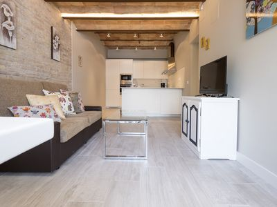Photo for Bel Air, in the center of Sitges 5 minutes from the beach.