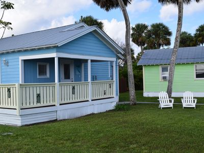Photo for Water Front Heron Cottages with boat dock