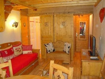 Photo for Plagne Villages apartment with excellent views of Mont Blanc.