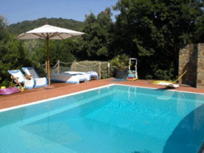 Photo for Villa with pool, garden and marvallous view