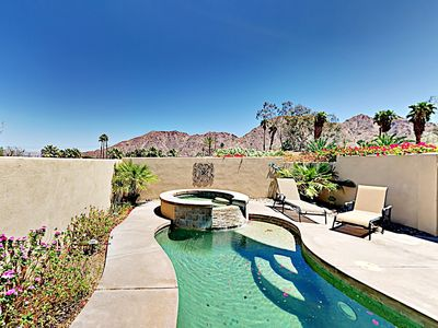 Photo for Mountain-View Stunner with Pool in La Quinta