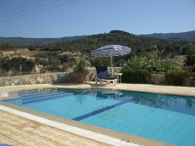 Photo for Beautiful villa, Northern Cyprus close to beaches with mountain views. Free WIFI