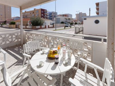 Photo for ALYSA - Apartment with terrace in Playa de Piles.