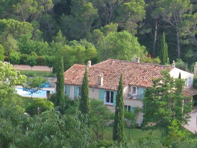 Photo for Stunning luxurious private family home, pool, private gardens