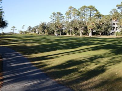 Photo for Gorgeous 3 Bedroom Golf/Beach Cottage, Includes 2 Club Cards and Golf cart, 28 Davis Love