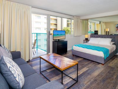 Photo for Studio in the Heart of Waikiki in the Aloha Surf | 6th Floor | WiFi Incl.
