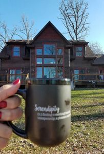 Photo for Premier Property! Beautiful luxury lake home... Serendipity Lodge