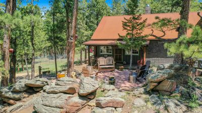 Photo for New Listing! 1906 Vintage Estes Park Cabin-1.5 Acres-Divide Views-Walk to Town