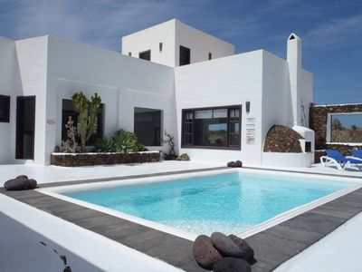 Photo for Beautiful villa 250m2 on the golf course 7 persons