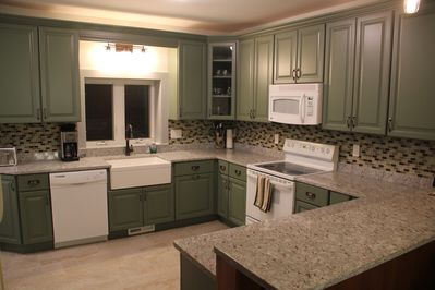 Brand new Chefs Kitchen with all the amenities