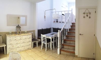 Photo for Ideal family home 20 meters from the beach with FREE WIFI / SMART TV / PARKING