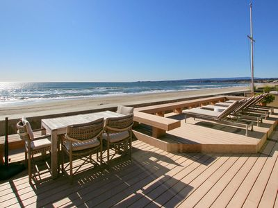 Photo for Stunning Beachfront 3BR/3.5BA at Seascape w/ Sauna, Private Deck & Courtyard