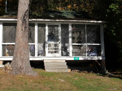 Photo for Relax and unplug in this cottage on Rangeley Lake