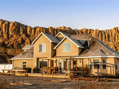 Photo for Moab Desert Home: 4 BR / 2.5 BA stand alone home in Moab, Sleeps 10