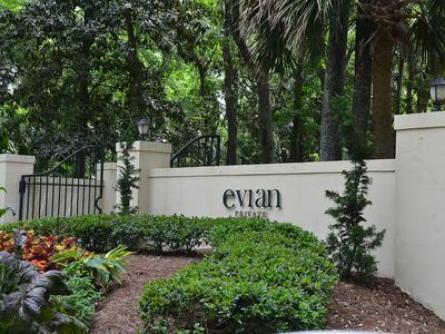 Evian Villas is located in the quaint Shipyard Plantation.