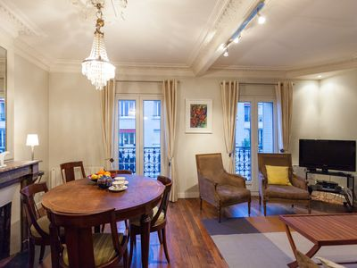 Photo for Haussmannian apartment with balcony