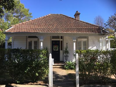 Photo for Quaint Weatherboard Cottage - close to shops and city transport (15 mins to CBD)