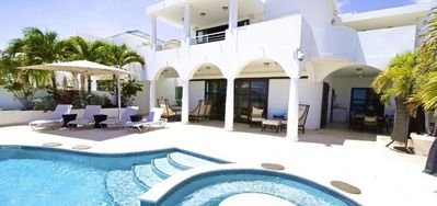 Villa Bahari -  Beach Front - Located in  Fabulous Cupecoy with Private Pool