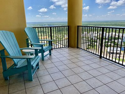 Photo for You'll love this Lovely Condo With North Facing Views (Non Gulf Facing) on the 19th floor!