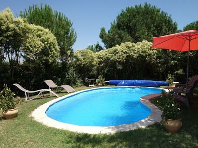 Photo for Nice apartment for 6 guests with WIFI, pool, A/C, TV, pets allowed and parking