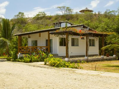 Photo for Modern Beach Cottage with private yard,  Open concept 2 br/1 ba-  Montanita/Olon